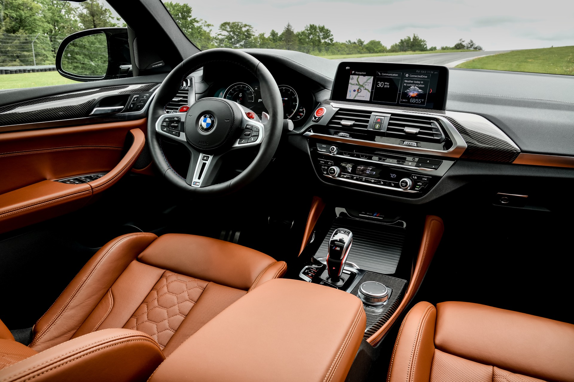 BMW X4 M Competition Interior