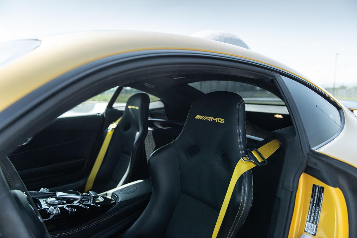 Mercedes-AMG GT R Seats