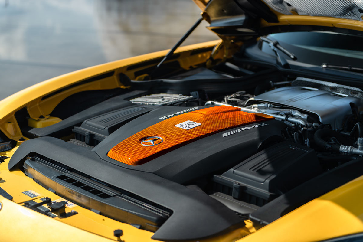 Mercedes-AMG GT R Engine