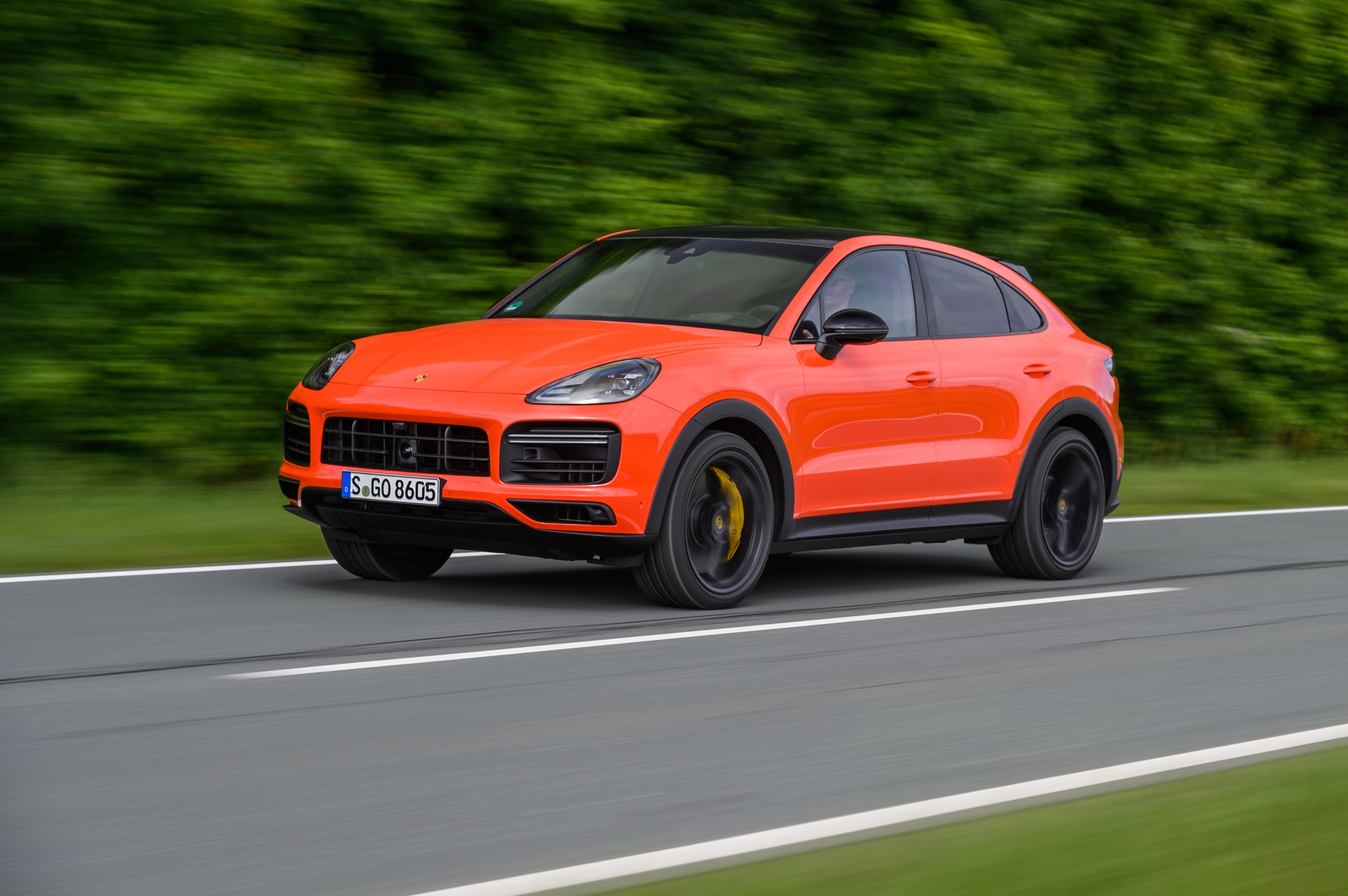 2019 Porsche Cayenne Coupe Turbo Review