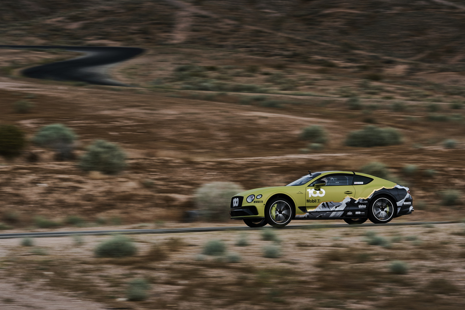Bentley Continental GT Race Car