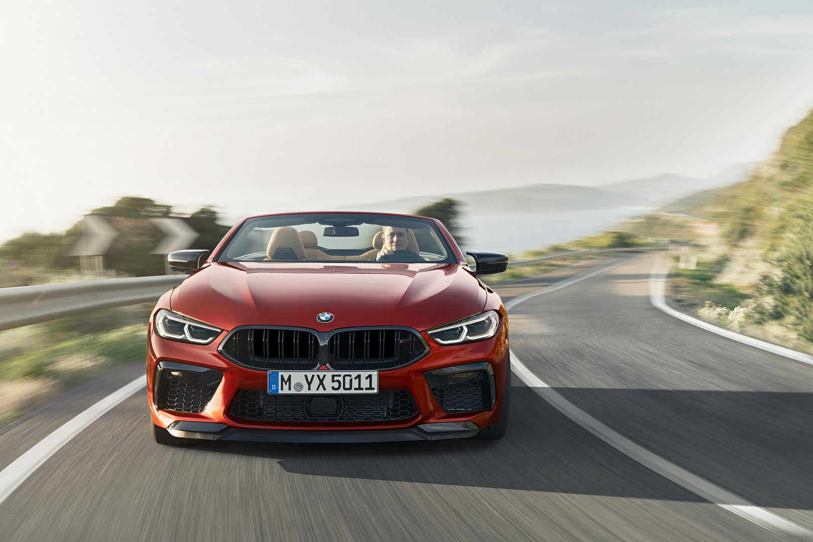 BMW M8 Competition Convertible Front View