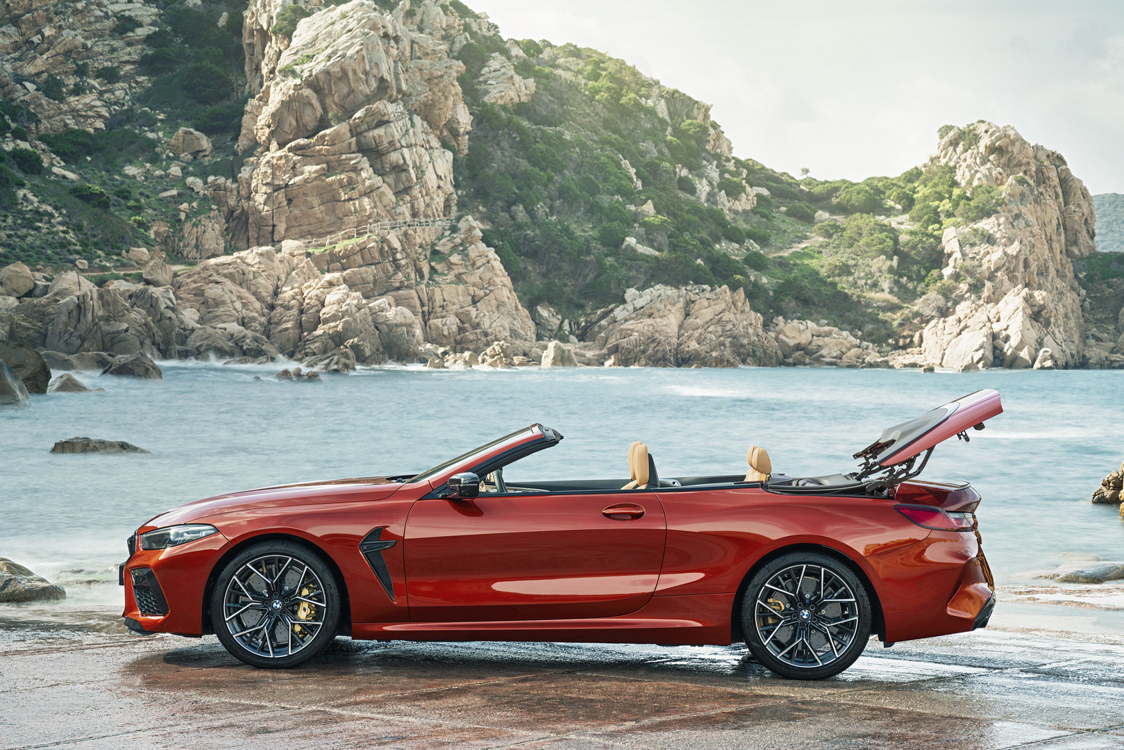 BMW M8 Competition Convertible Side View