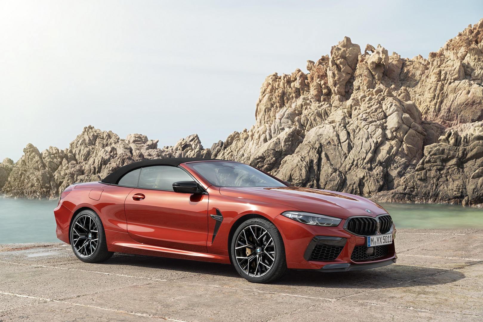 BMW M8 Competition Convertible Fabric Top
