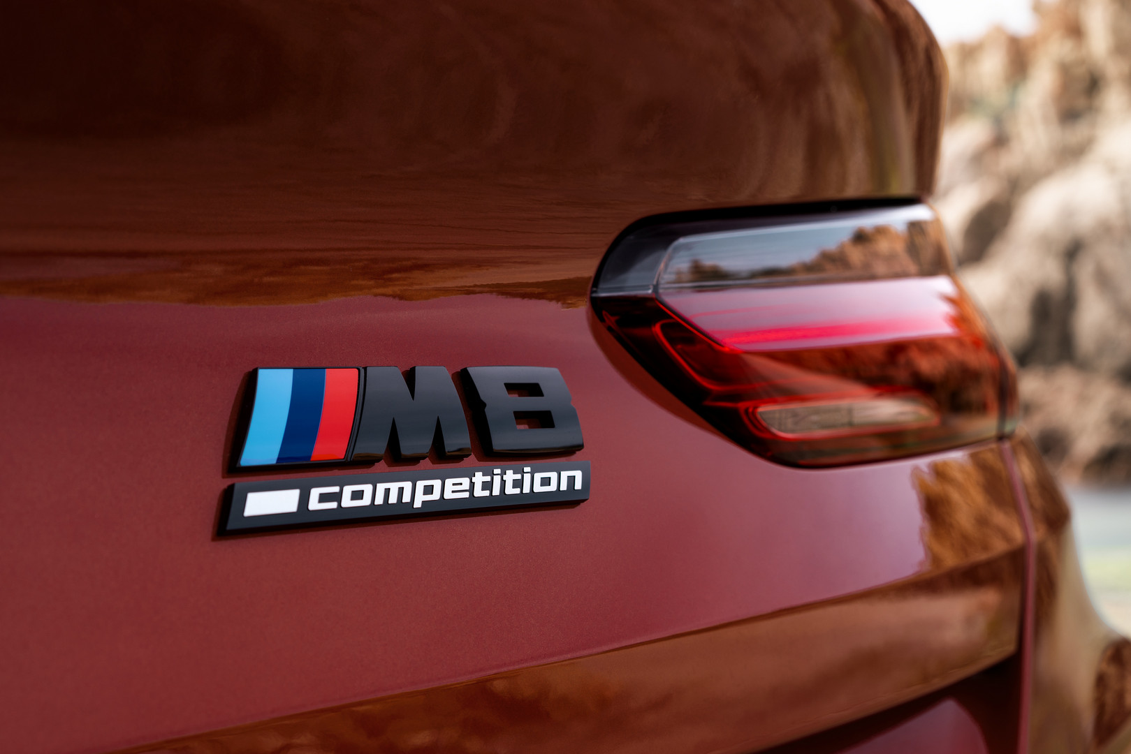 BMW M8 Competition Badge