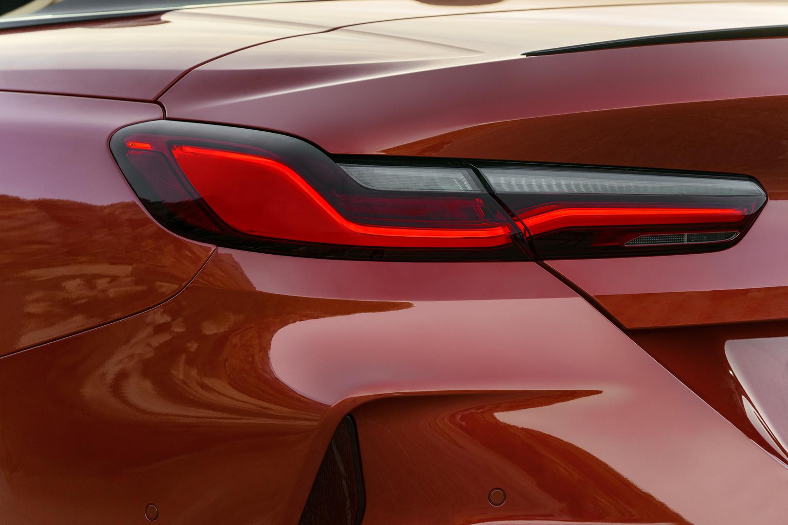 2020 BMW M8 Rear Light