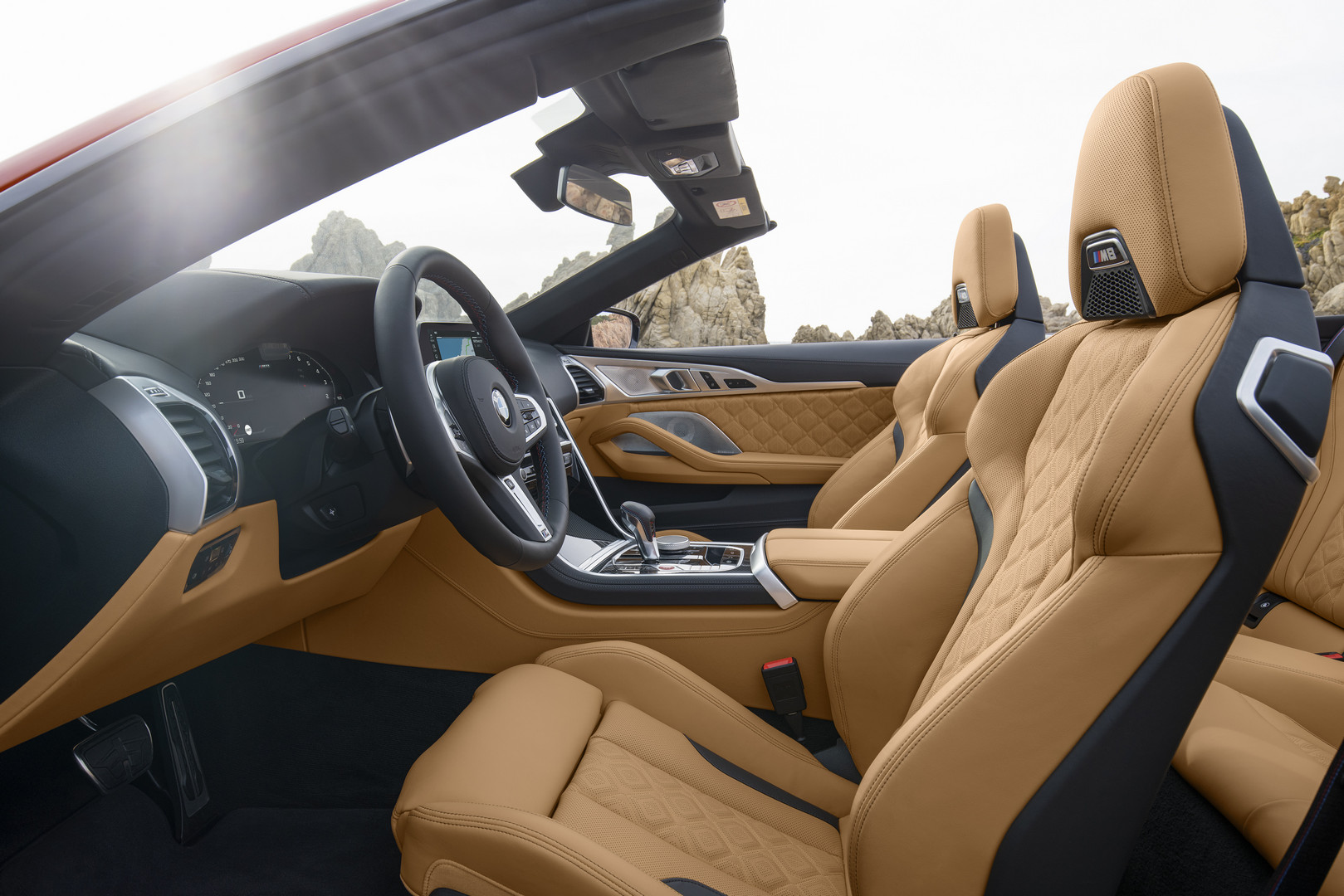 2020 BMW M8 Competition Front Seats