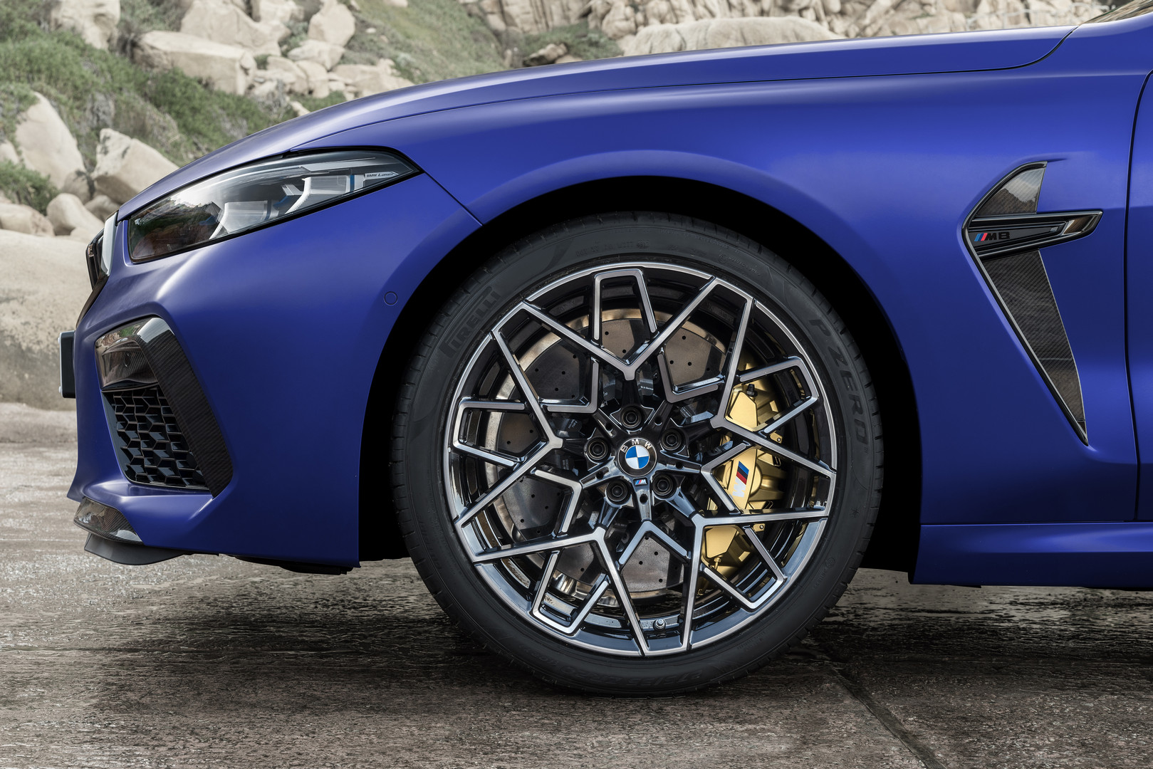 2020 BMW M8 Competition Wheels