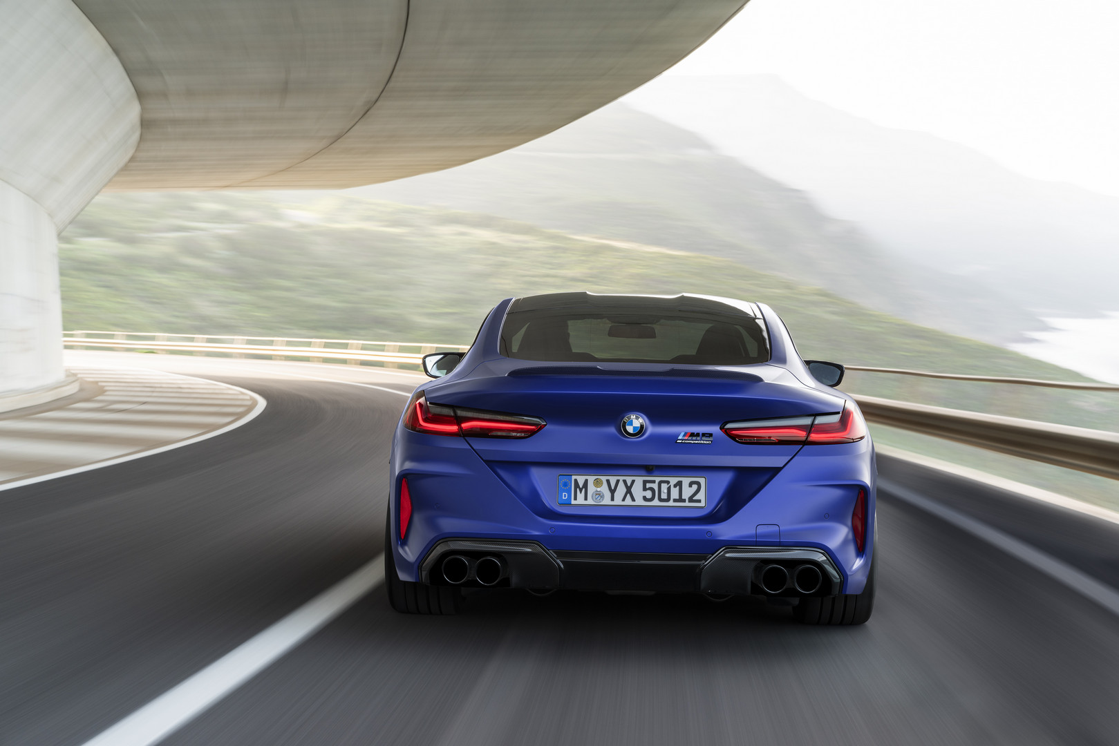 2020 BMW M8 Competition Rear View