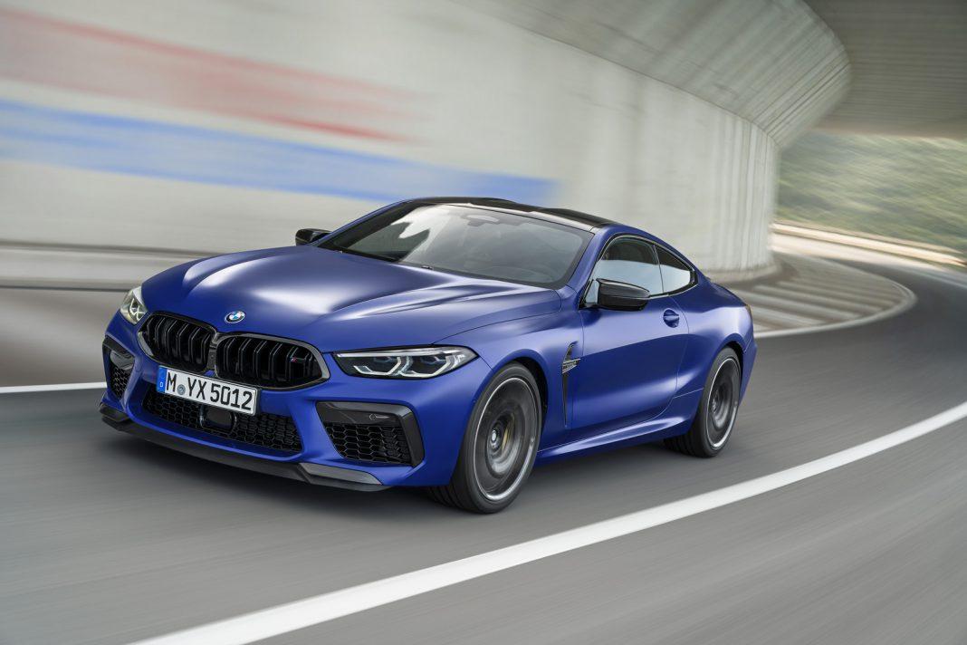 Frozen Blue BMW M8 Competition