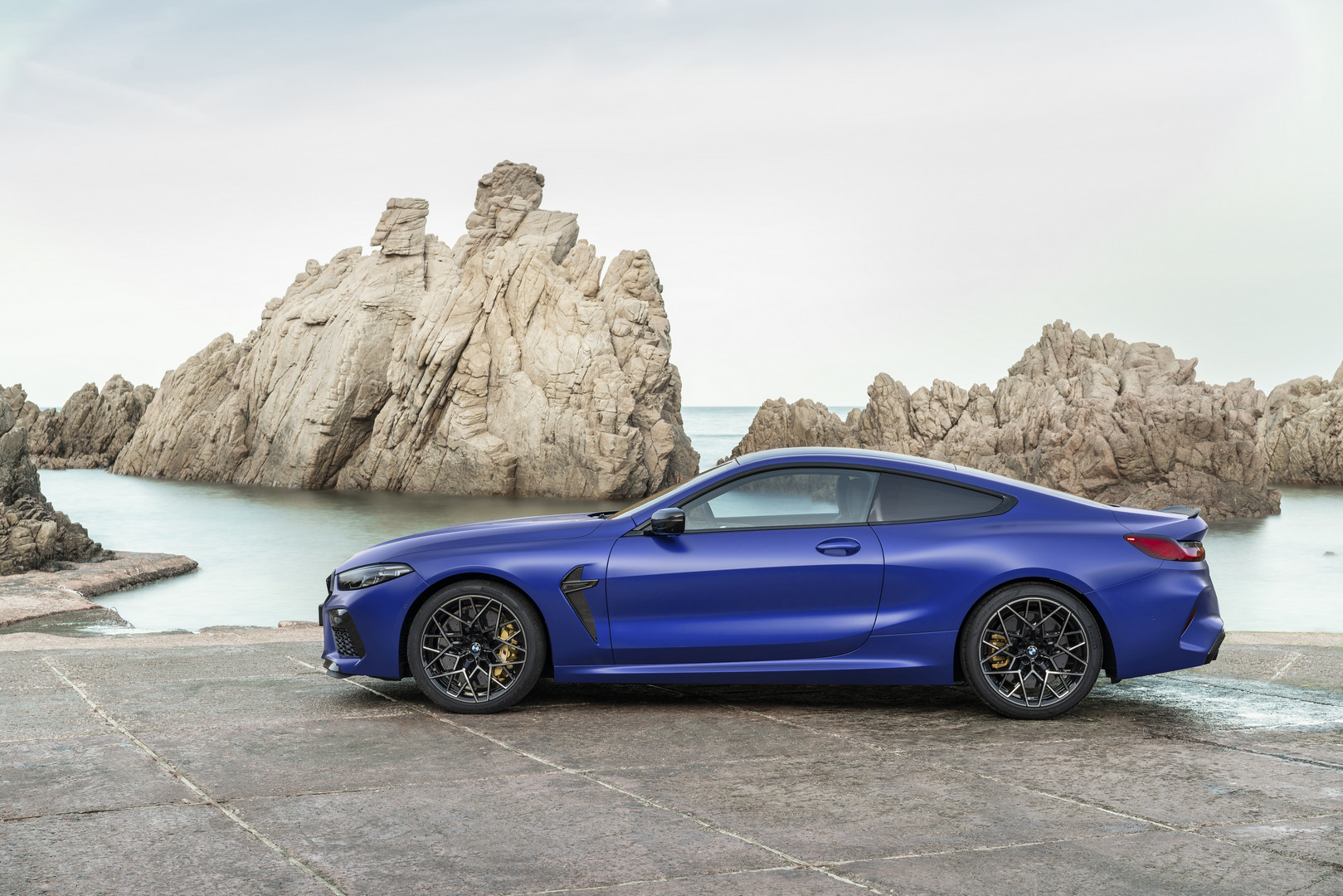 2020 BMW M8 Competition Side View