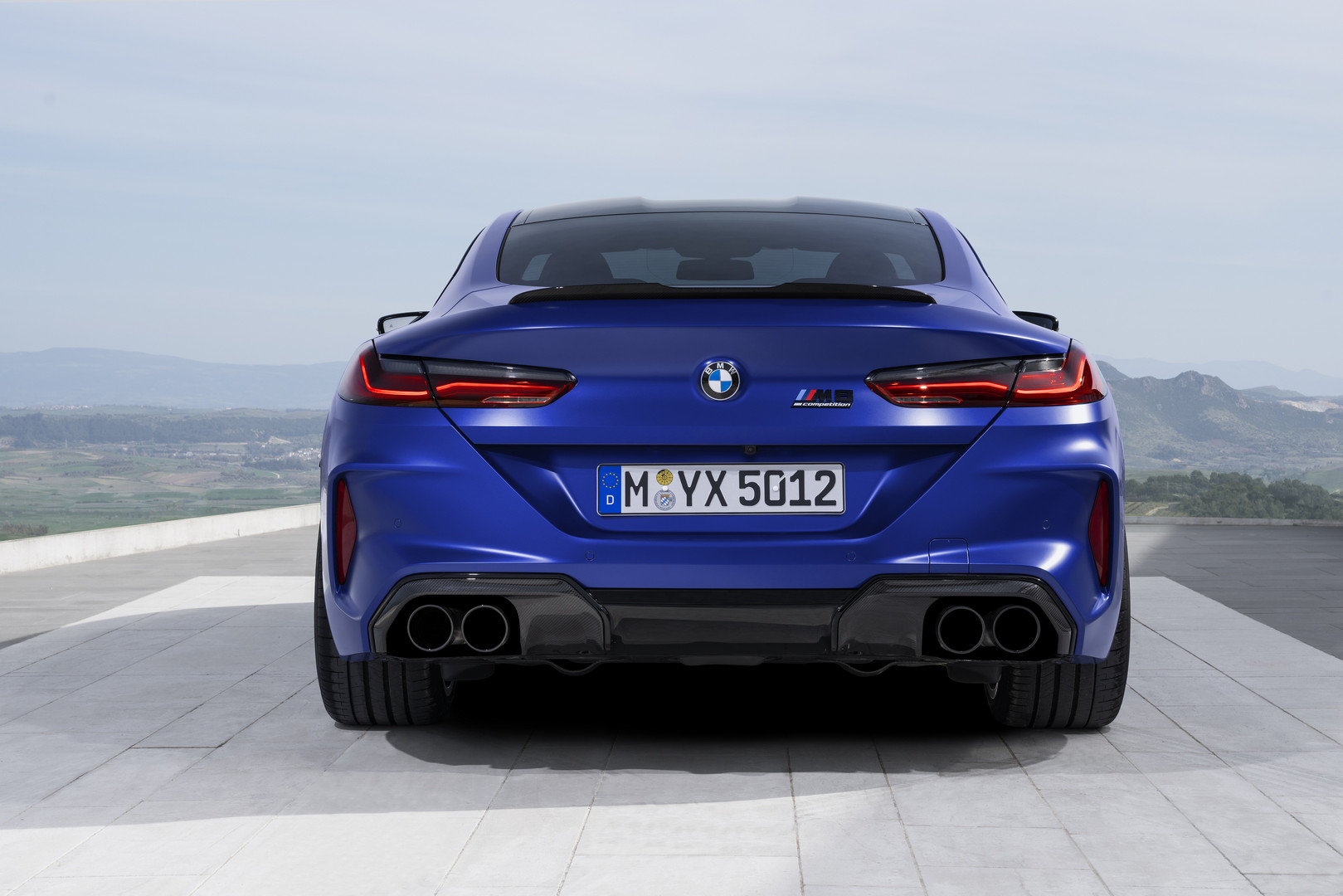 2020 BMW M8 Competition Rear Lights