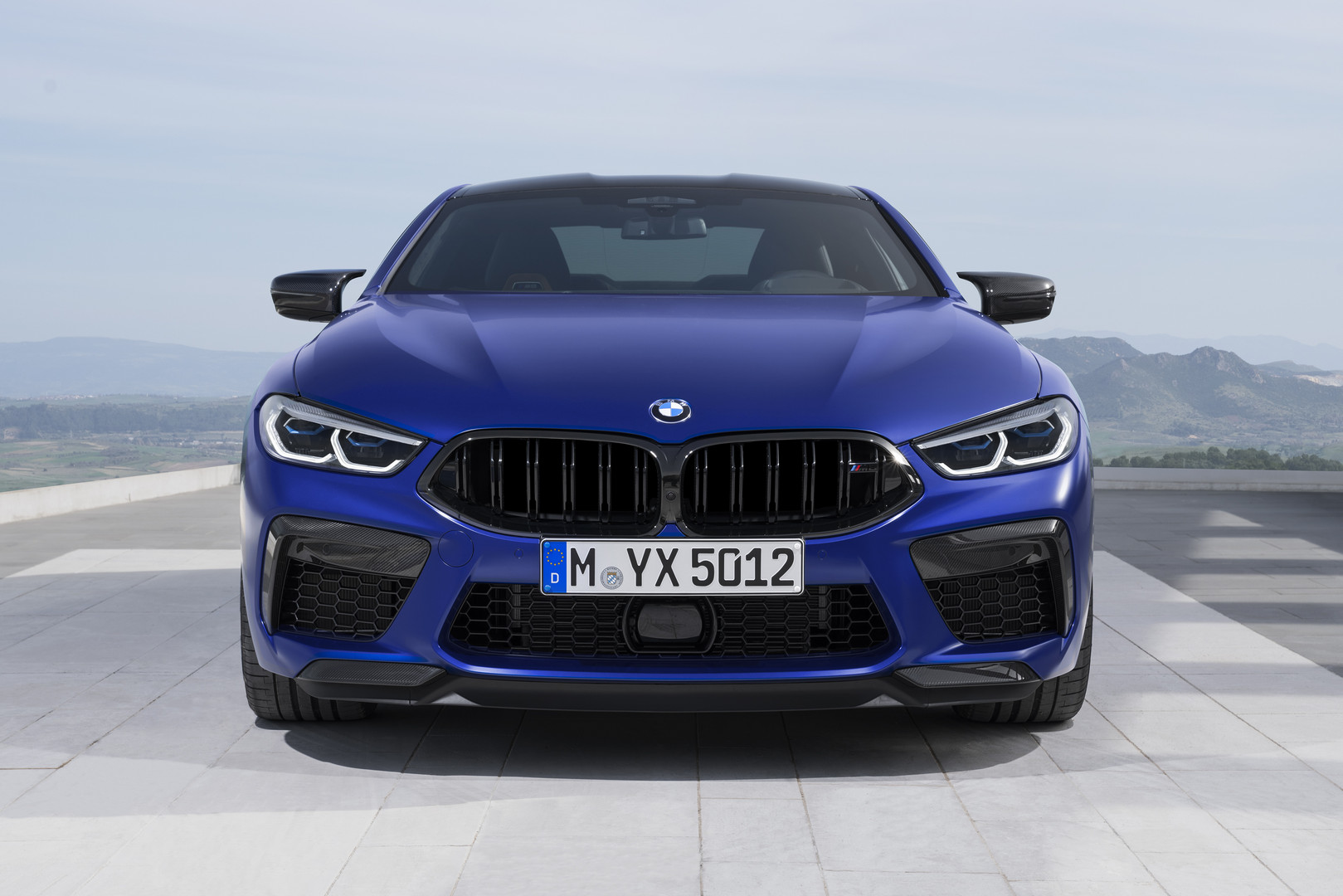 2020 BMW M8 Competition Headlights