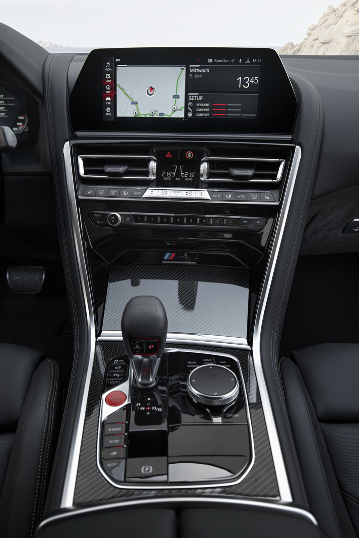 BMW M8 Competition Center Console