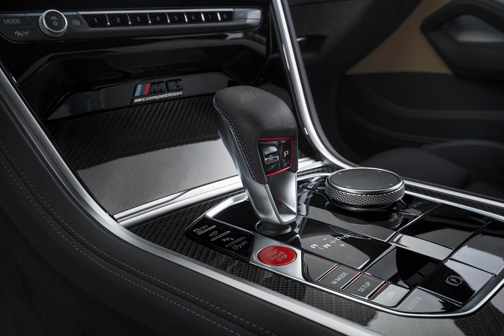 BMW M8 Competition Gear Selector