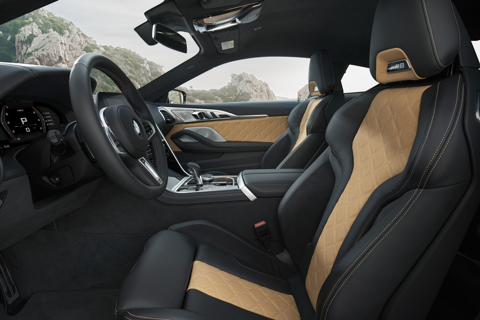 BMW M8 Competition Seats