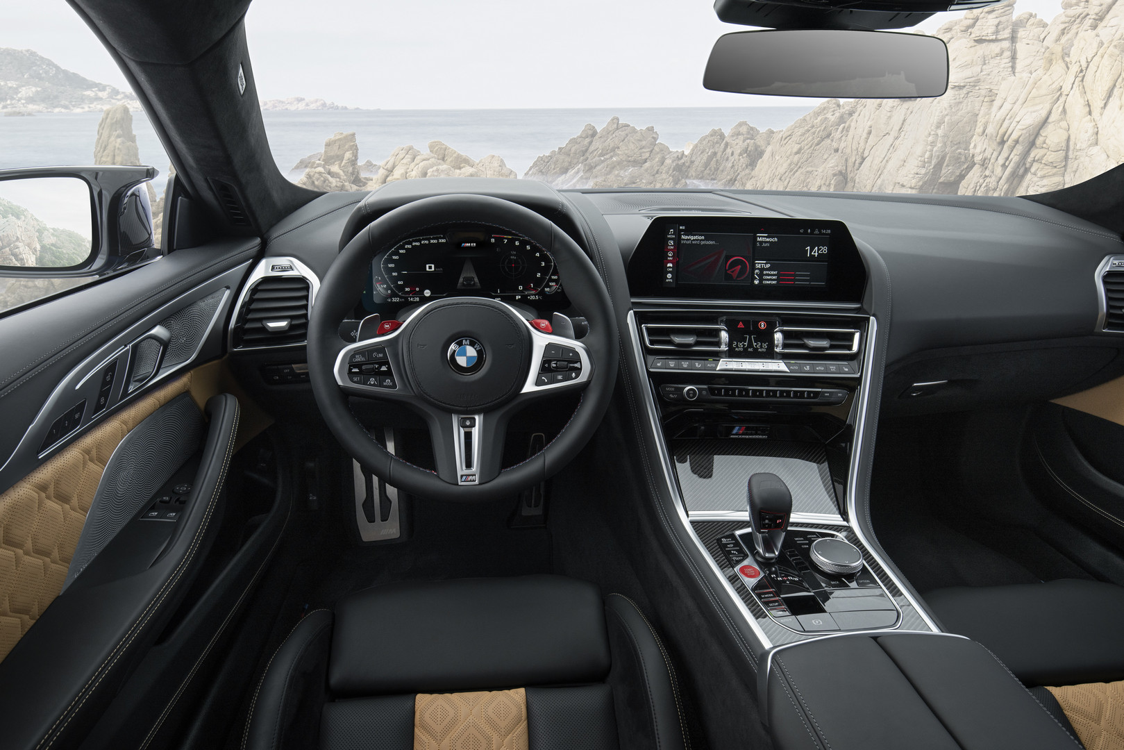 BMW M8 Competition Interior