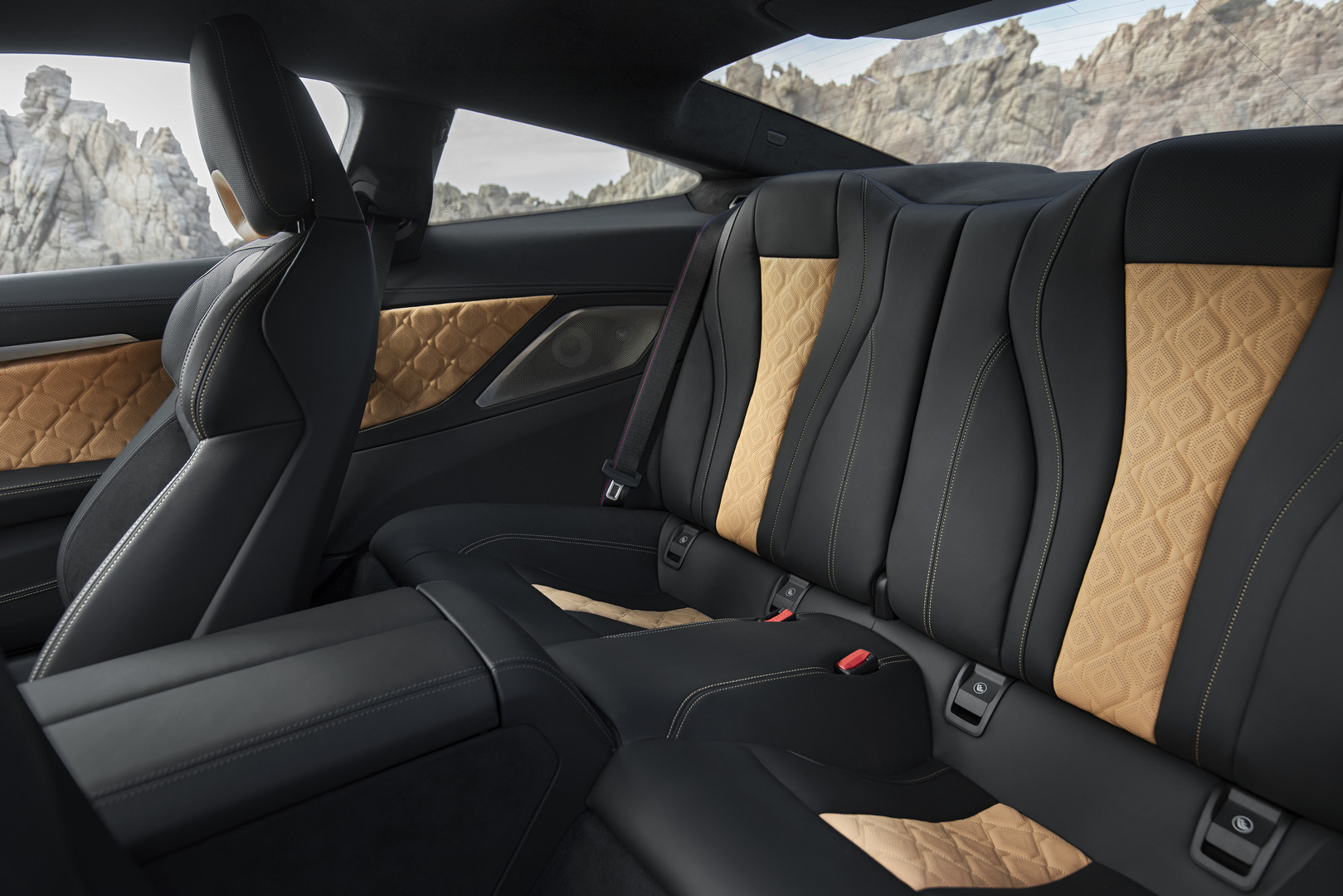 BMW M8 Competition Rear Seats