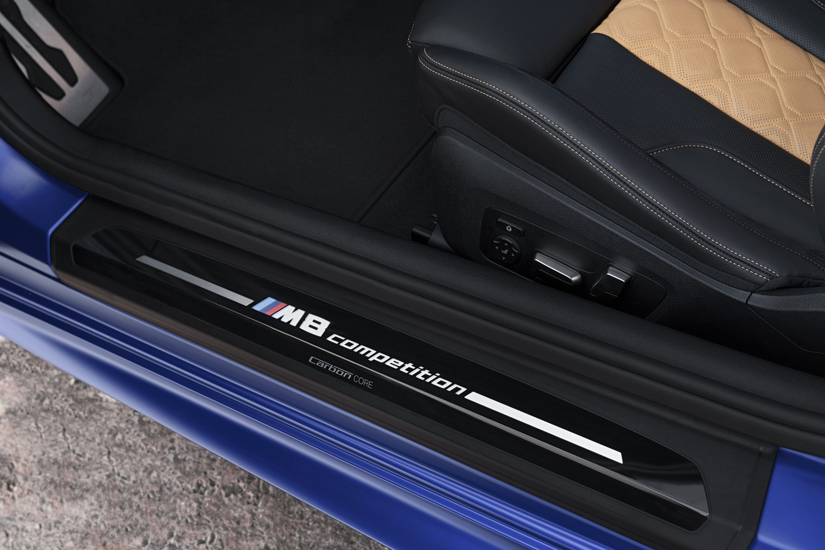 BMW M8 Competition Door Lettering
