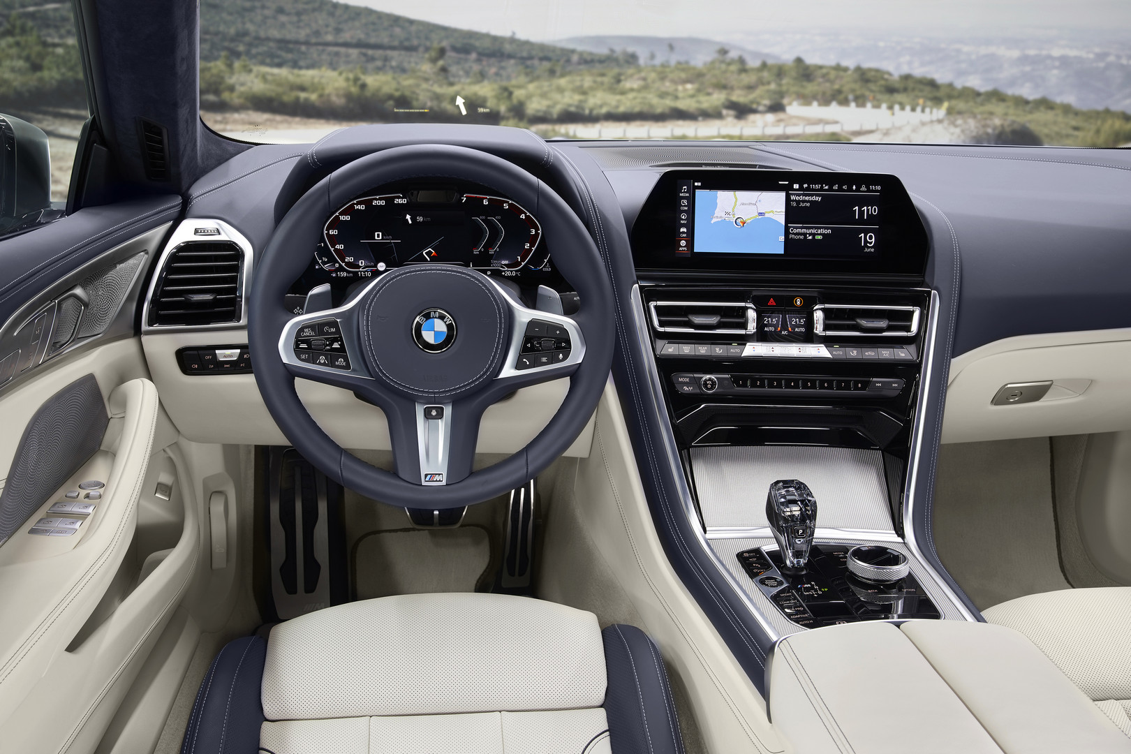 BMW 8 Series Gran Coupe Interior