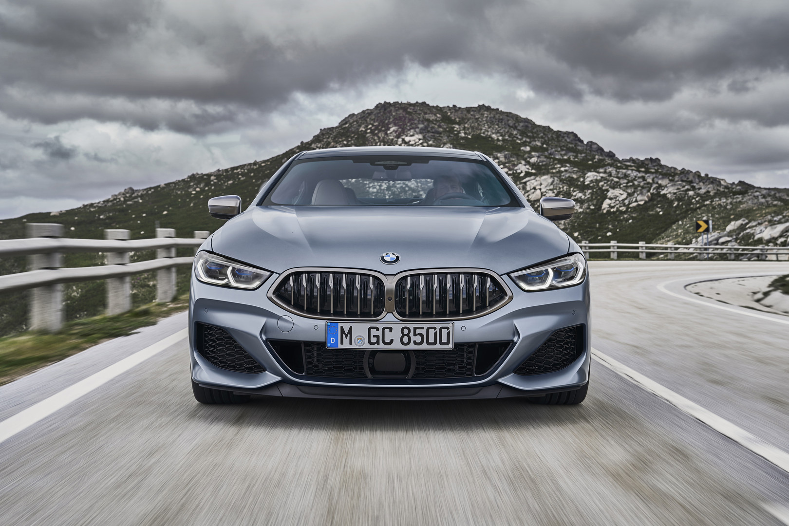 BMW 8 Series Gran Coupe Front View