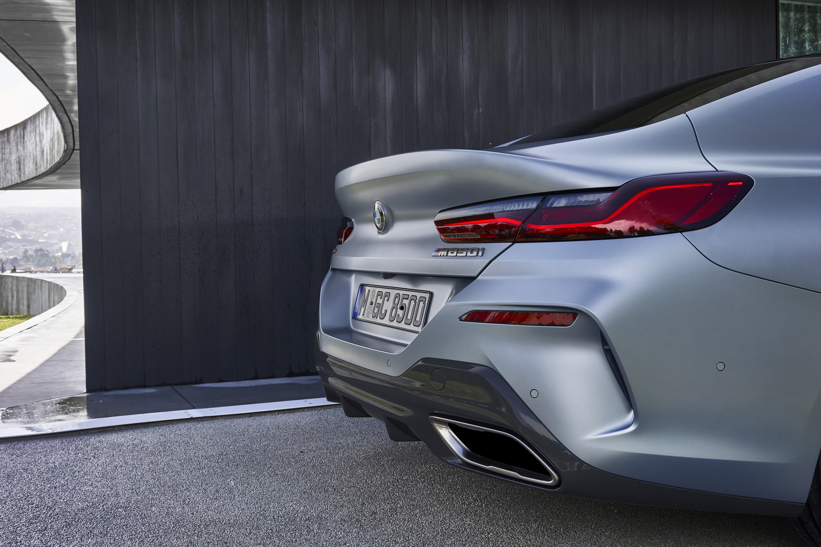 BMW 8 Series Gran Coupe Exhaust
