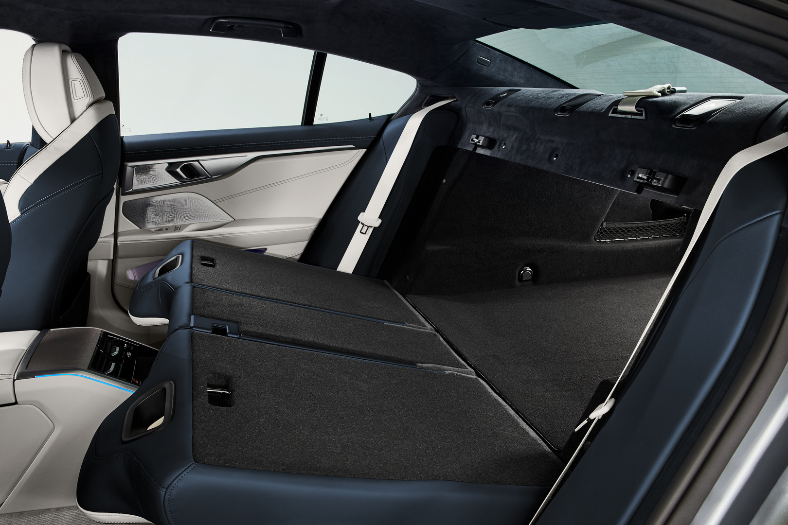 BMW 8 Series Gran Coupe Folded Seats