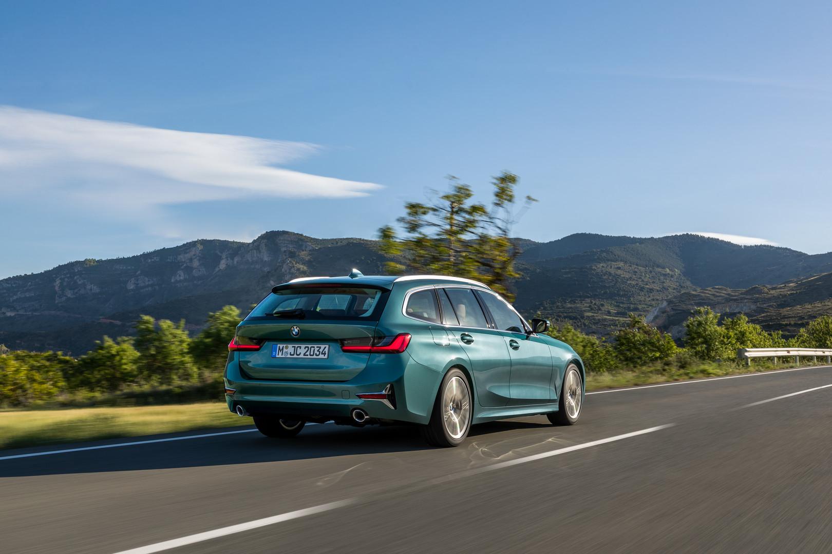 Blue Ridge Mountain BMW 3 Series Touring
