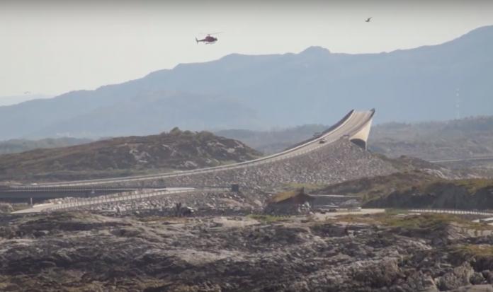 Bond 25 filming in Norway