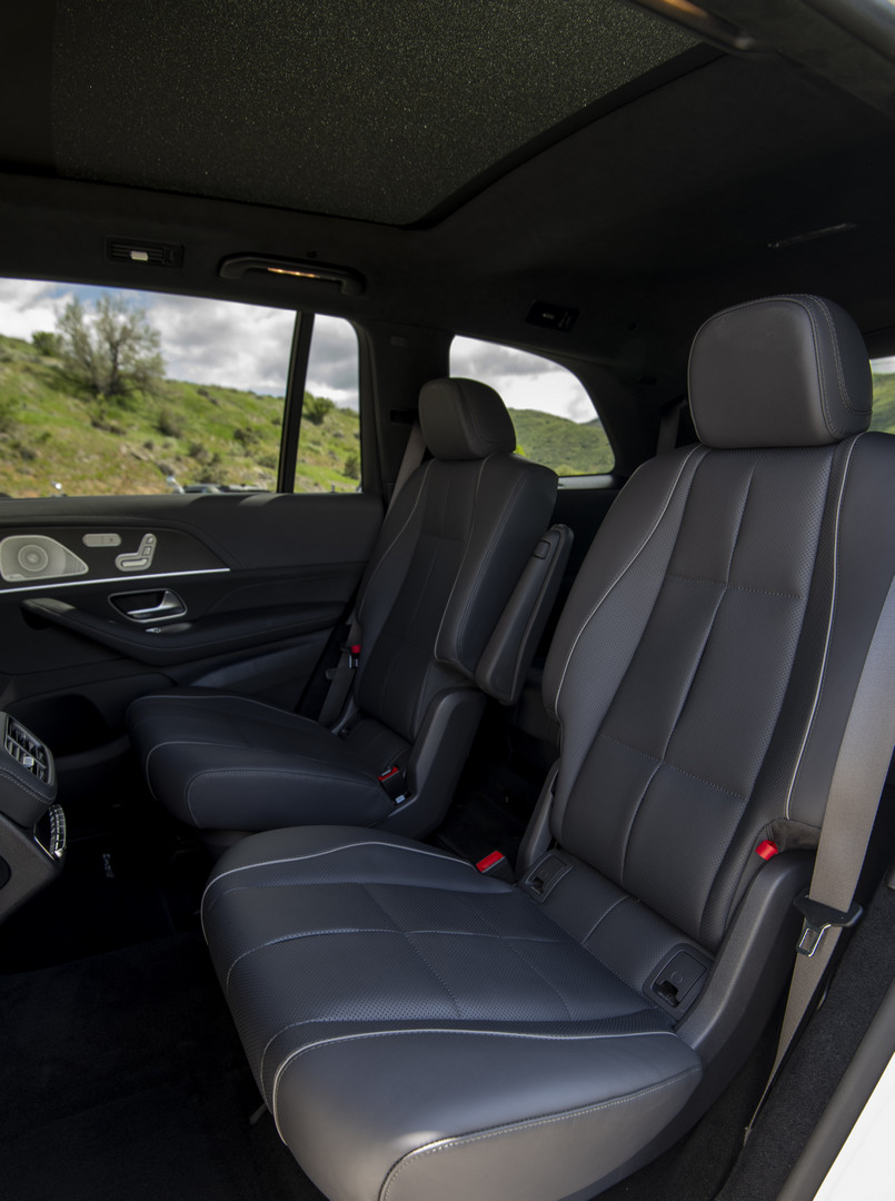 2020 Mercedes-Benz GLS Rear Seats