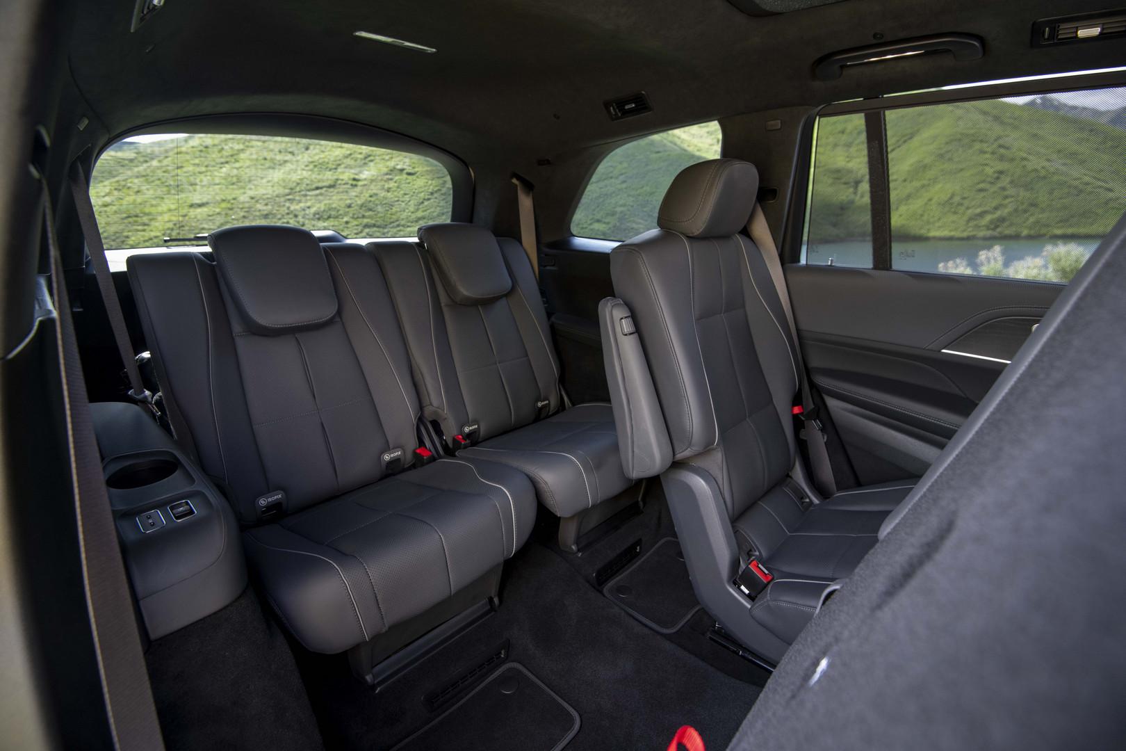2020 Mercedes-Benz GLS 3rd Row Seats