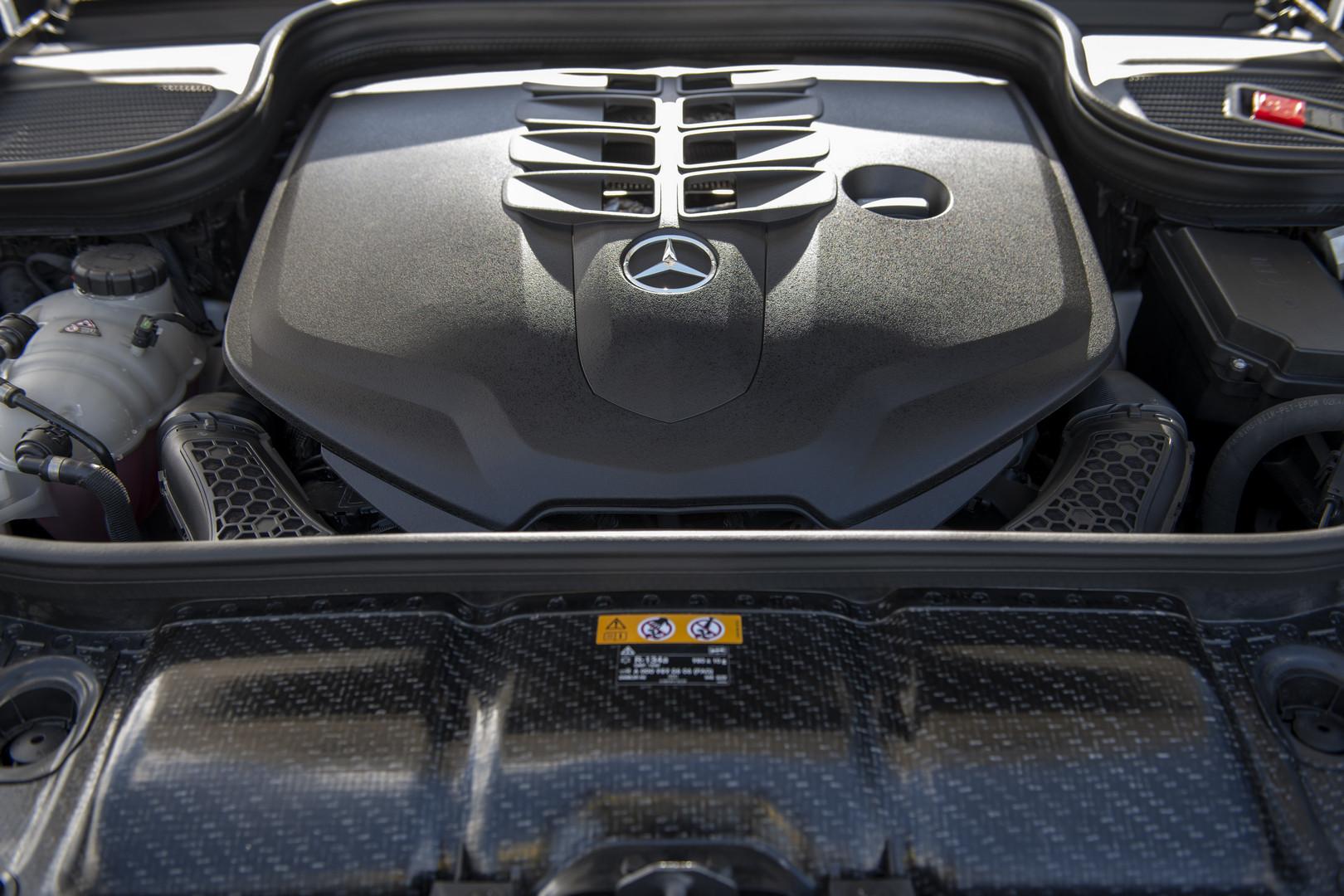 2020 Mercedes-Benz GLS 580 Engine