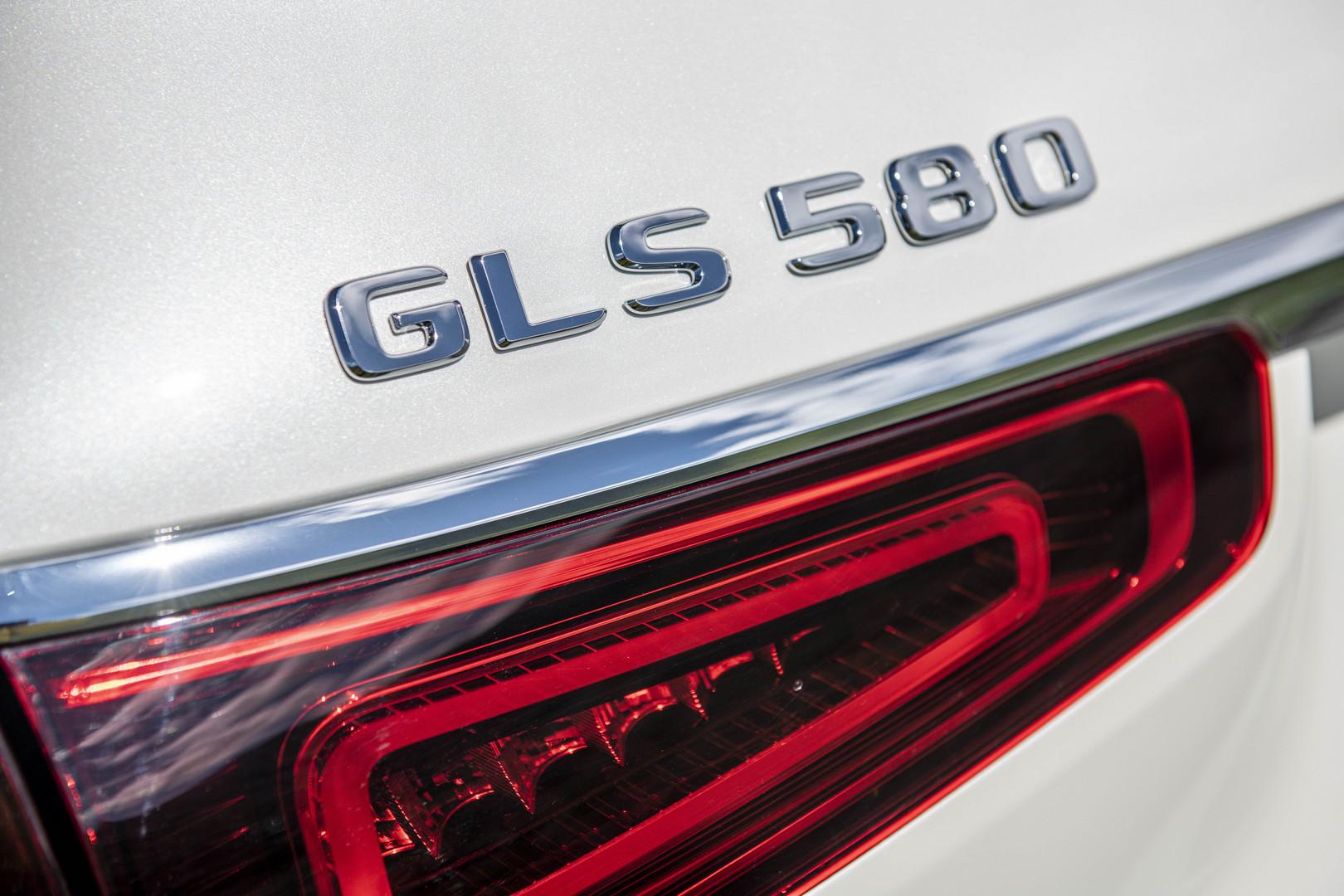 2020 Mercedes-Benz GLS 580 Badge