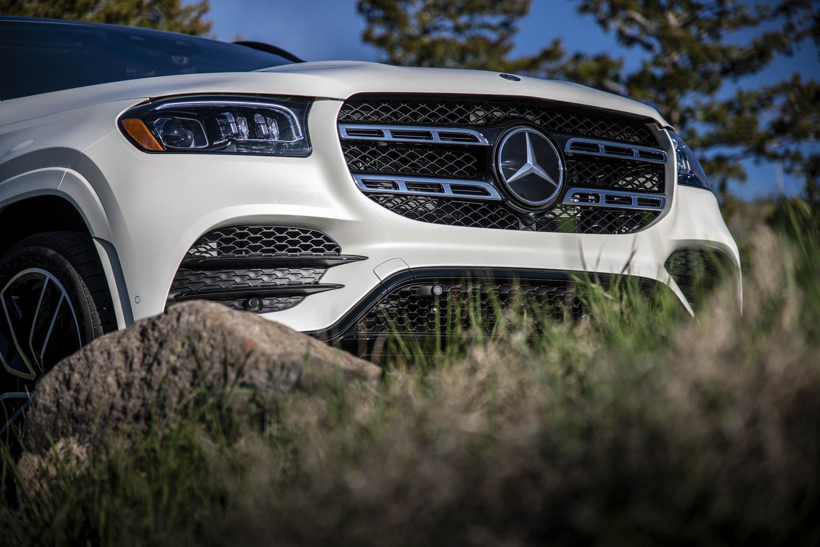 2020 Mercedes-Benz GLS Front Grille