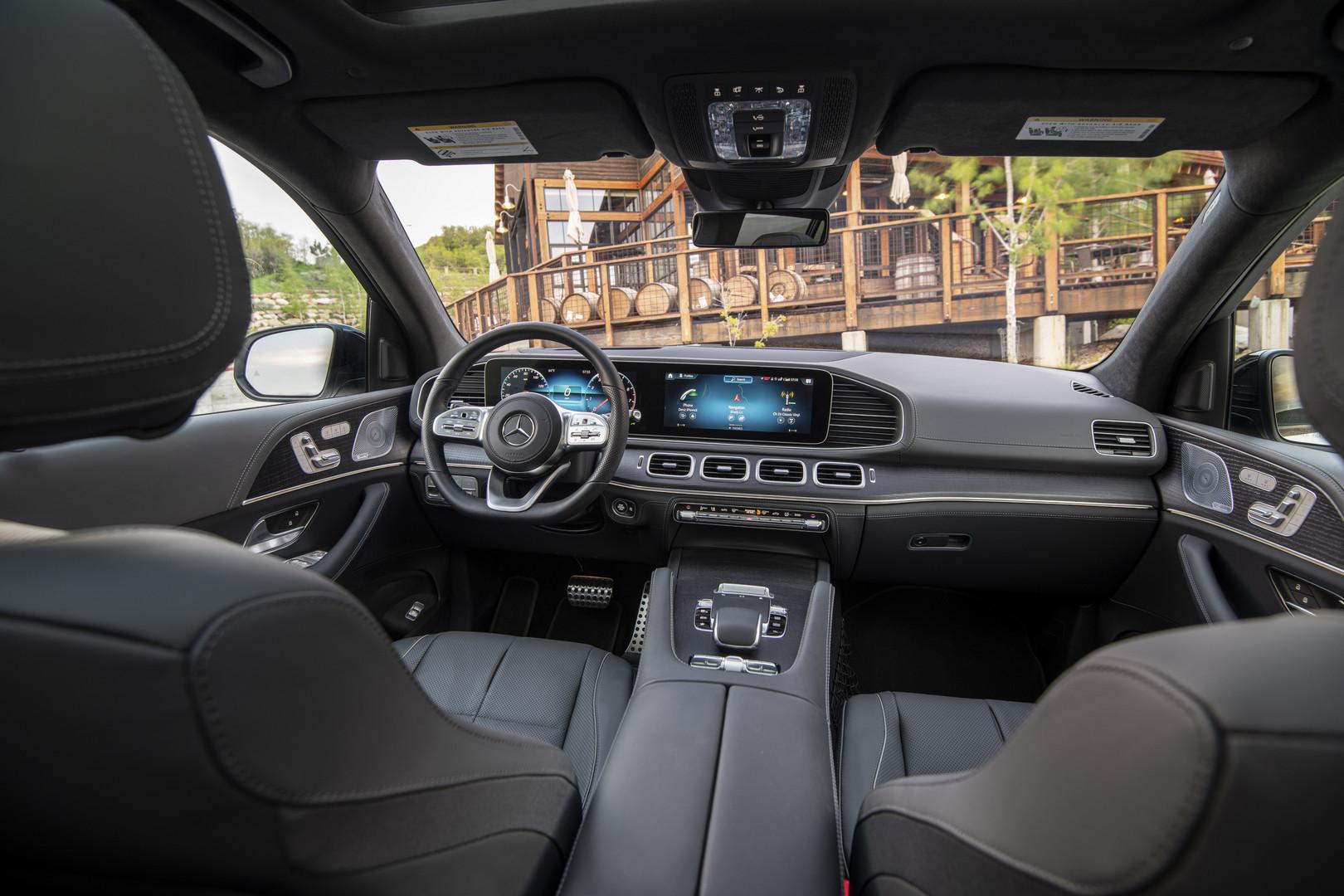 Mercedes-Benz GLS 580 Interior