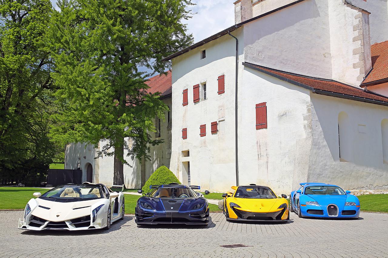 Veneno, Koenigsegg One:1, McLaren P1, Veyron