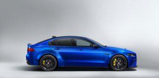 Jaguar XE SV Project 8 Touring Side