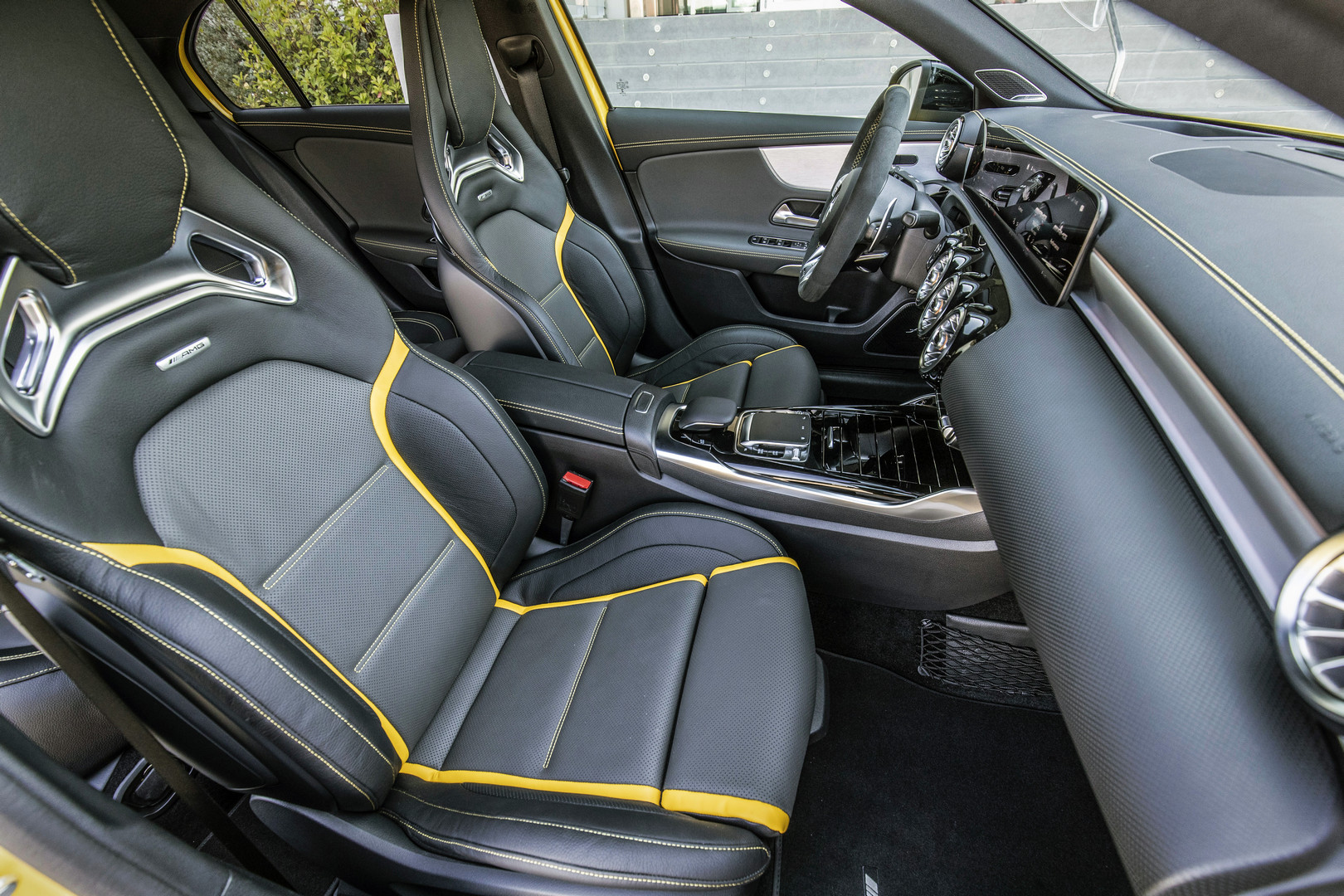 2020 A45 S AMG Seats