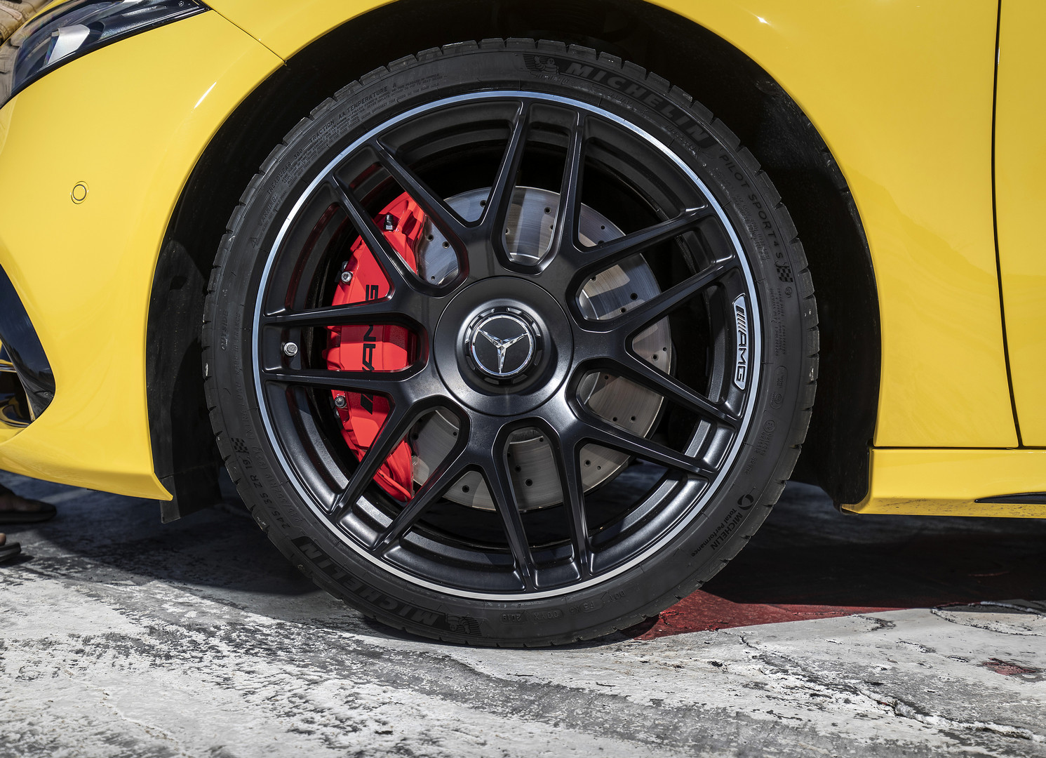 2020 A45 S AMG Wheels