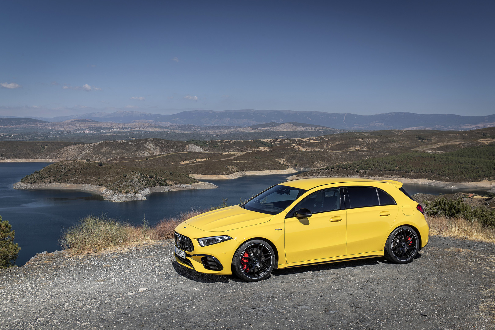 2020 A45 S AMG - Yellow
