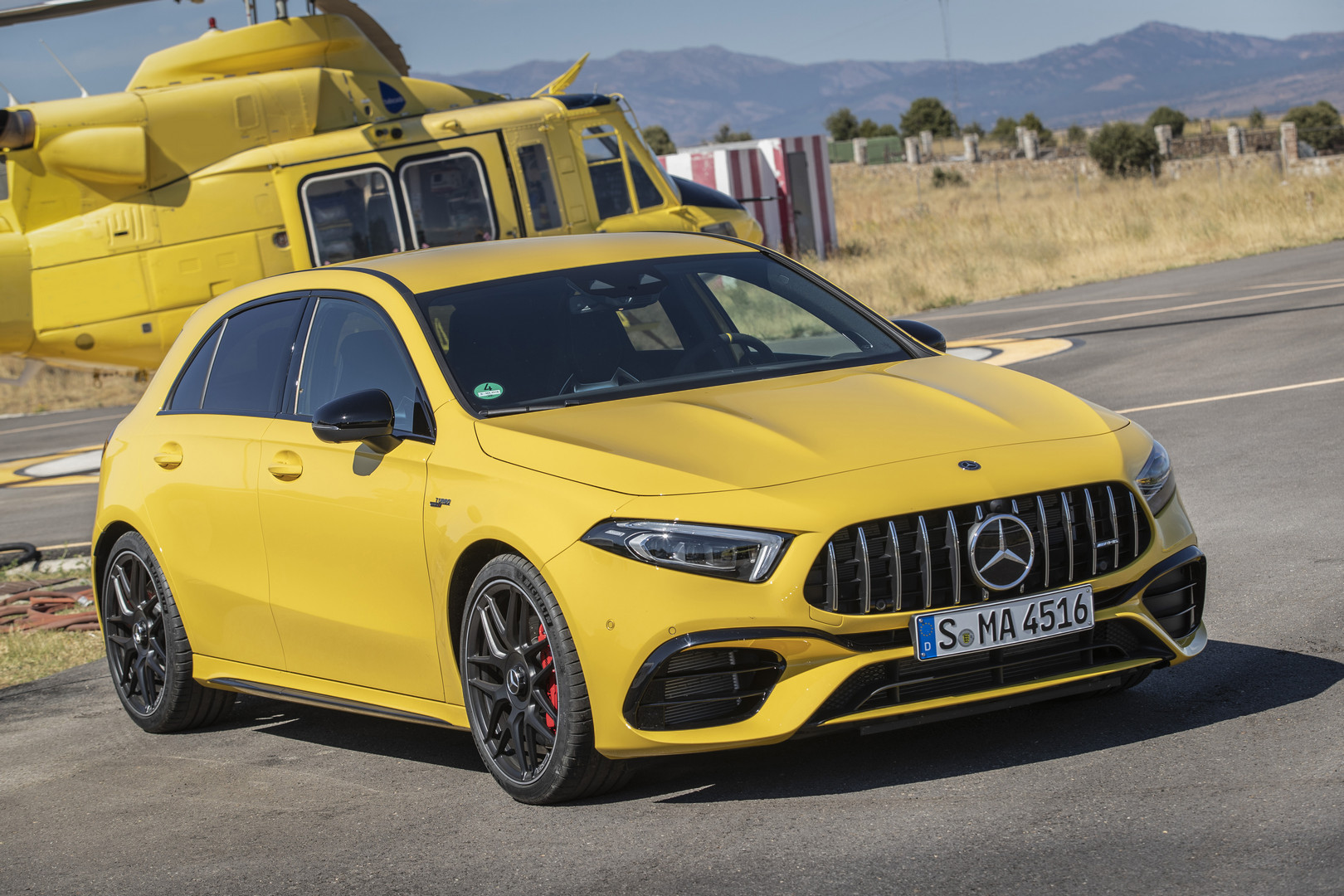 2020 A45 S AMG Review