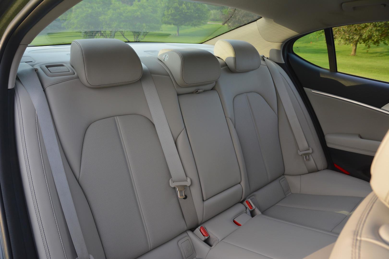 2019 Genesis G70 Rear Seats
