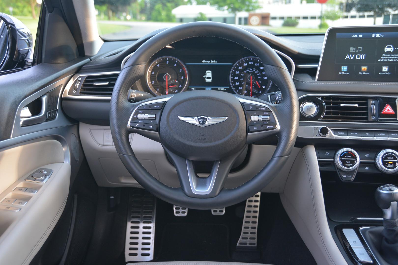2019 Genesis G70 Steering Wheel