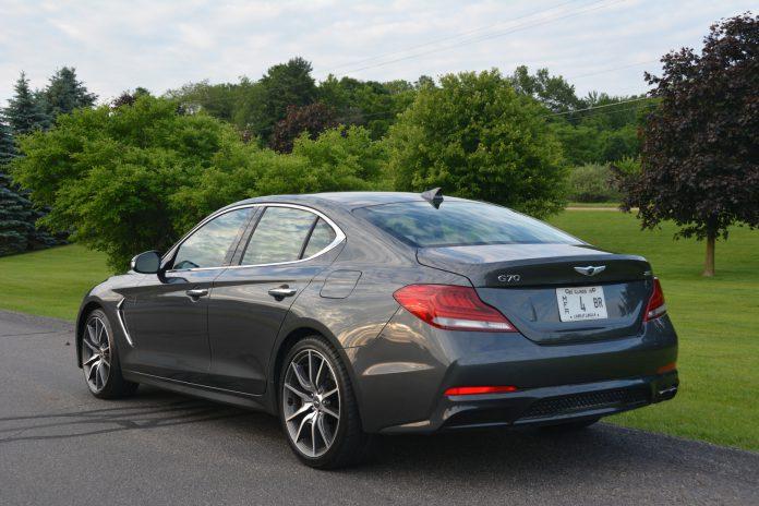 2019 Genesis G70  Rear Side