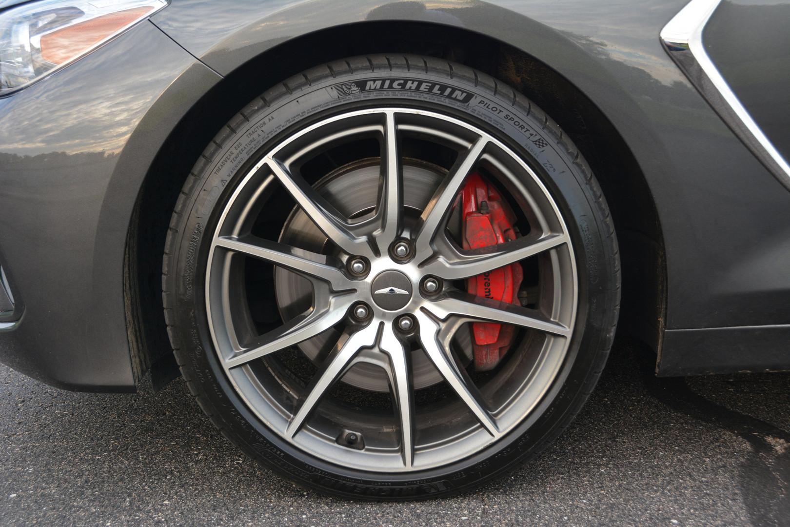 2019 Genesis G70 Wheels