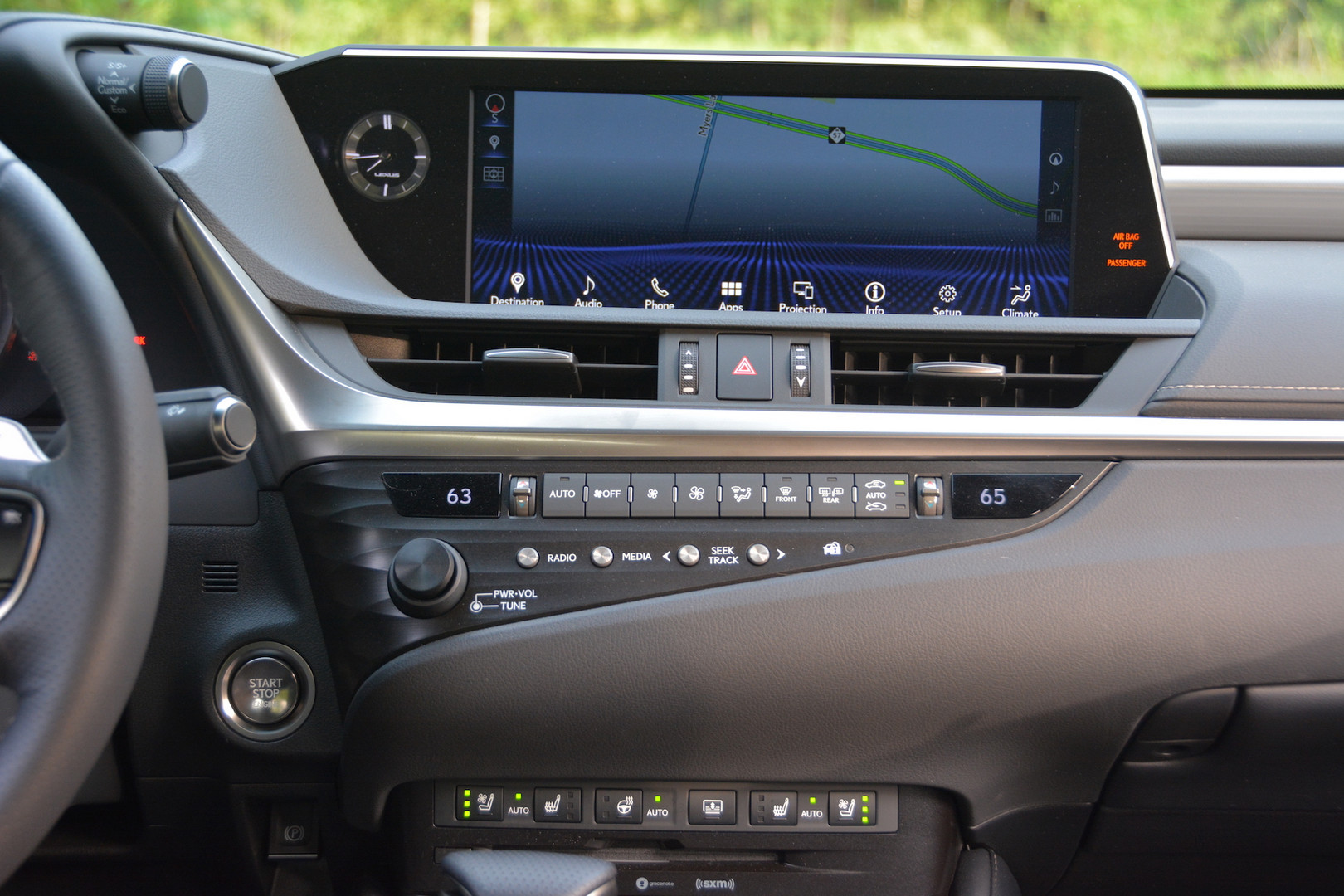 2019 Lexus ES 350 Display Screen