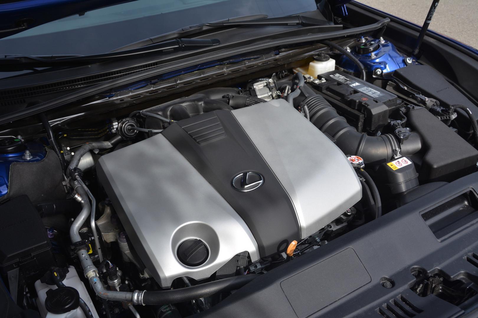 2019 Lexus ES 350 F Sport Engine