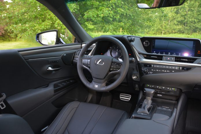 2019 Lexus ES 350 Steering Wheel