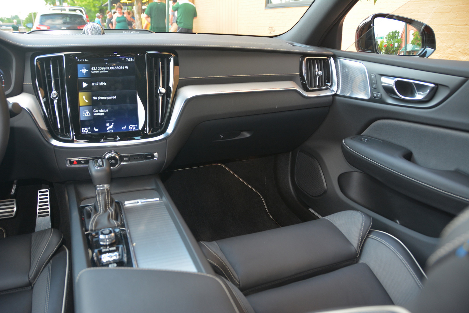 2019 Volvo S6 Display Screen