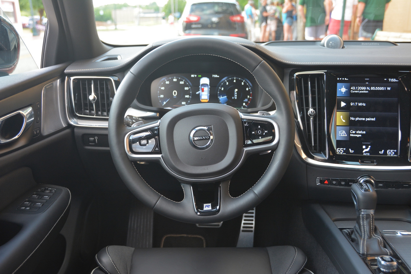 2019 Volvo S6 Steering Wheel